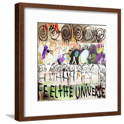 Feel the Universe-Poul Pava-Framed Art Print