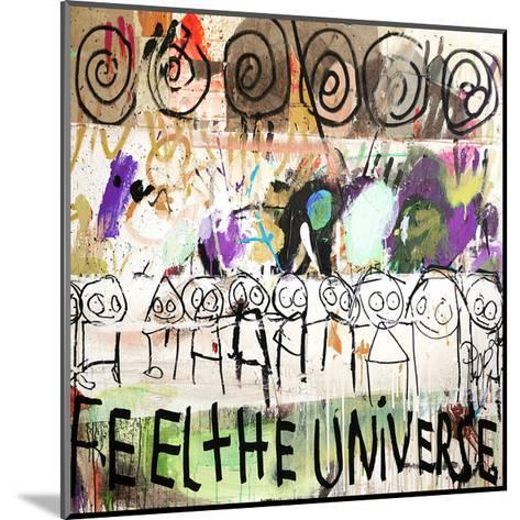 Feel the Universe-Poul Pava-Mounted Art Print
