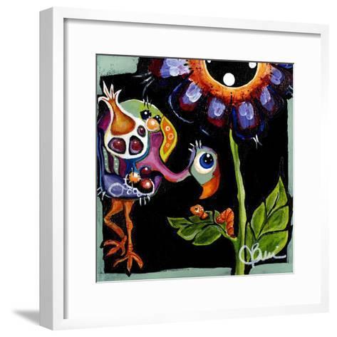 Birdie III-Jami Vestergaard-Framed Art Print