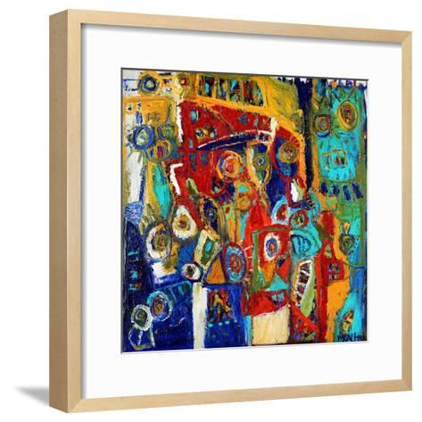 A Bridge of Colour-Martin Kalhoej-Framed Art Print