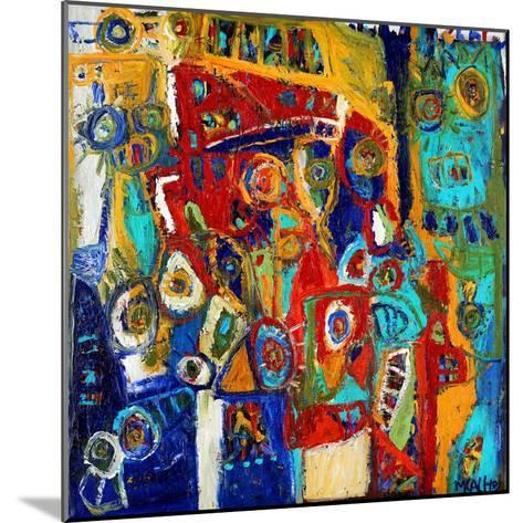 A Bridge of Colour-Martin Kalhoej-Mounted Art Print