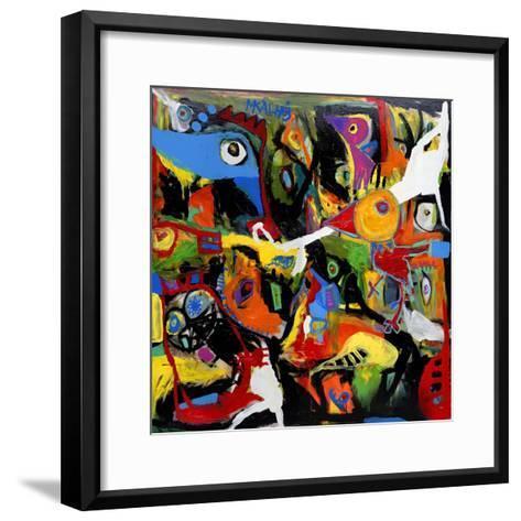 Chicken Out-Martin Kalhoej-Framed Art Print