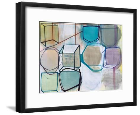 Paper Abstract 3-Naomi Taitz Duffy-Framed Art Print