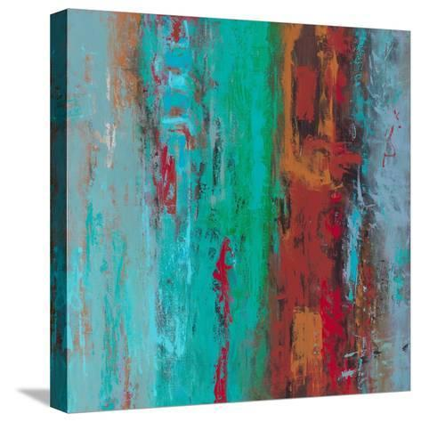 Primal Numbers-Janet Bothne-Stretched Canvas Print
