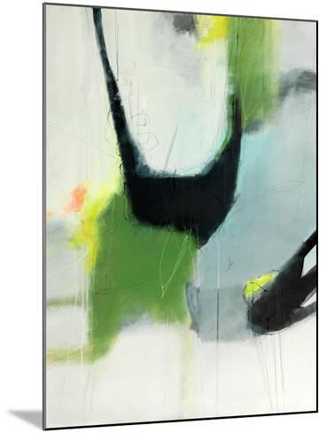 On the Edge-Sidsel Brix-Mounted Art Print