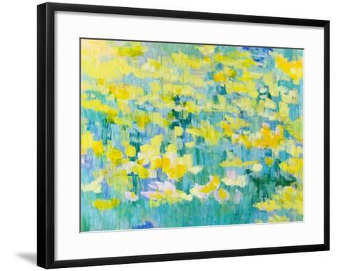 And They Were All Yellow-Tamara Gonda-Framed Art Print