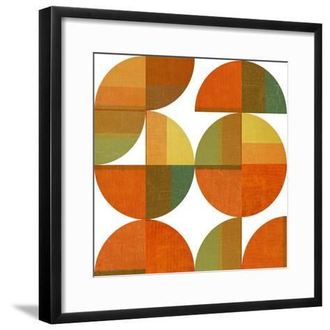 Four Suns Quartered-Michelle Calkins-Framed Art Print