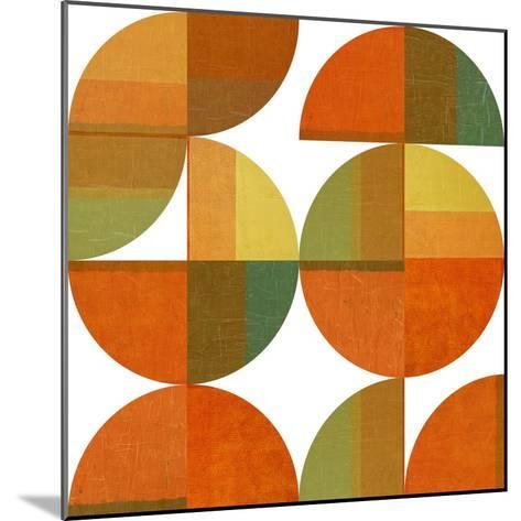 Four Suns Quartered-Michelle Calkins-Mounted Art Print