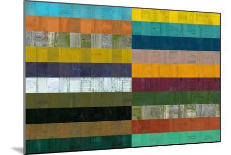 Wooden Abstract VIII-Michelle Calkins-Mounted Art Print