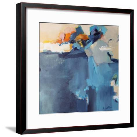 Dizzy at the Edge-Lina Alattar-Framed Art Print