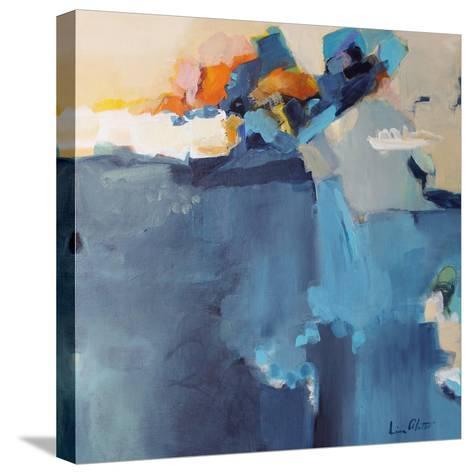 Dizzy at the Edge-Lina Alattar-Stretched Canvas Print
