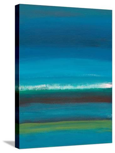 Night Coast One-Jan Weiss-Stretched Canvas Print