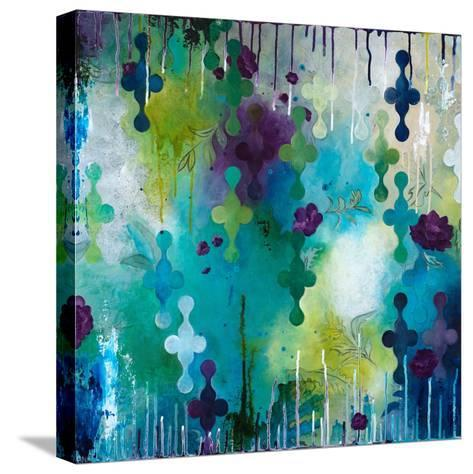 Seafoam Storm One-Heather Noel Robinson-Stretched Canvas Print