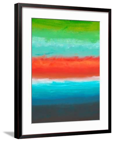 Night Coast Three-Jan Weiss-Framed Art Print