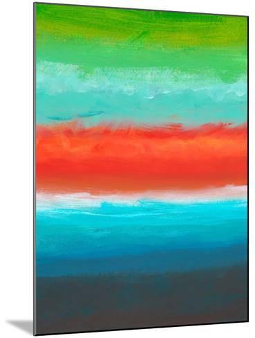 Night Coast Three-Jan Weiss-Mounted Art Print