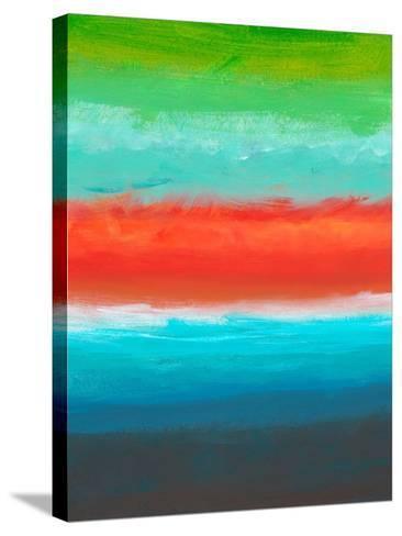 Night Coast Three-Jan Weiss-Stretched Canvas Print