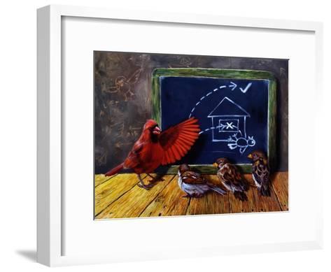 Flight School-Lucia Heffernan-Framed Art Print