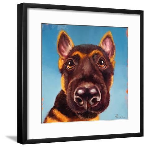 Follow Your Nose 1-Lucia Heffernan-Framed Art Print