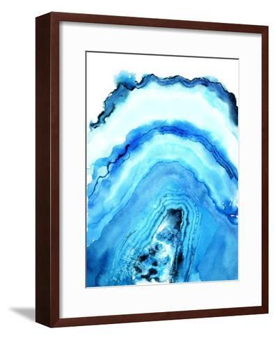 Geode Art-Nancy Knight-Framed Art Print