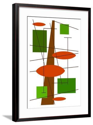 Rauth in Green-Tonya Newton-Framed Art Print