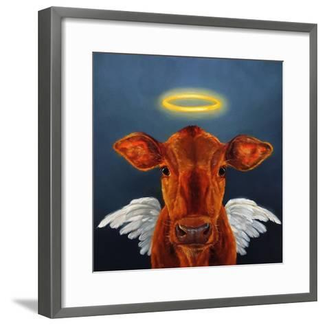 Holy Cow-Lucia Heffernan-Framed Art Print