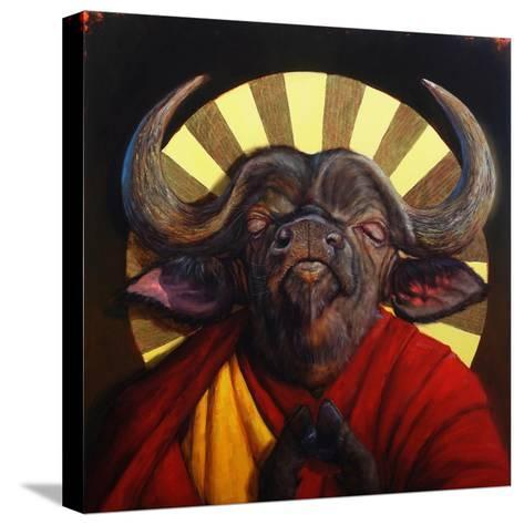 Holy Cow II-Lucia Heffernan-Stretched Canvas Print