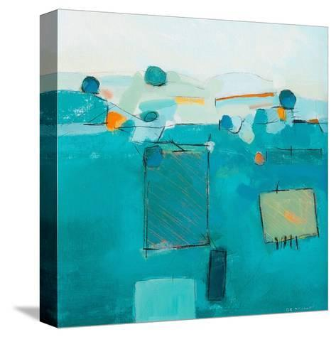 Blue Landscape-David O'Connor-Stretched Canvas Print