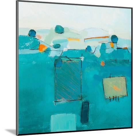 Blue Landscape-David O'Connor-Mounted Art Print
