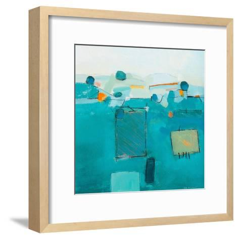 Blue Landscape-David O'Connor-Framed Art Print