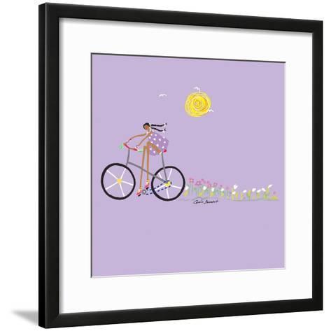 Tour de Girls 2-Caroline Benchétrit-Framed Art Print