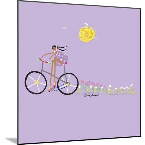 Tour de Girls 2-Caroline Benchétrit-Mounted Art Print