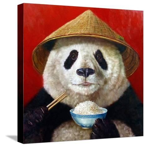 Panda-Lucia Heffernan-Stretched Canvas Print