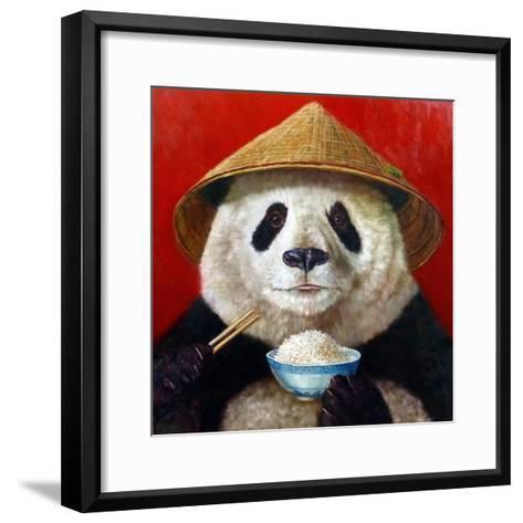 Panda-Lucia Heffernan-Framed Art Print