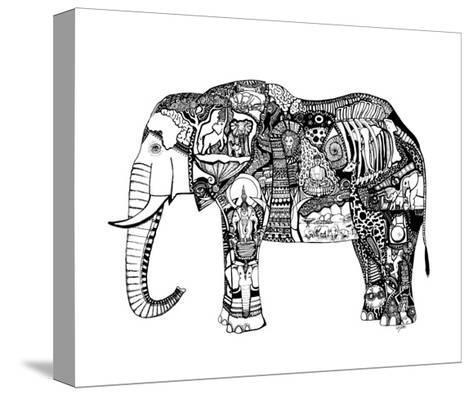 Goodbye Elephant-Liz Ash-Stretched Canvas Print