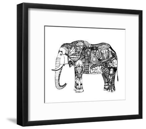 Goodbye Elephant-Liz Ash-Framed Art Print
