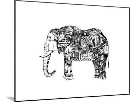 Goodbye Elephant-Liz Ash-Mounted Art Print