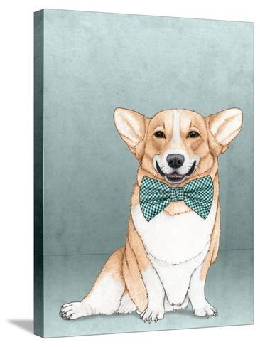 Corgi Dog-Barruf-Stretched Canvas Print