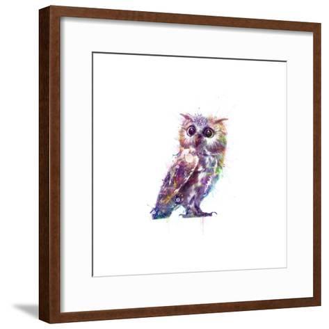 Owl-VeeBee-Framed Art Print