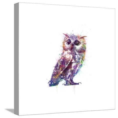 Owl-VeeBee-Stretched Canvas Print