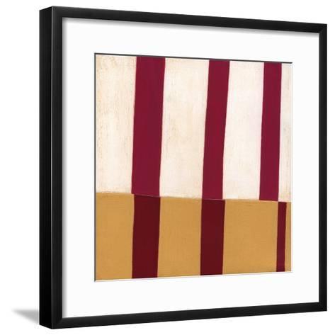 Broken Stripes 2-Laura Nugent-Framed Art Print