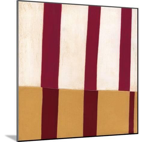 Broken Stripes 2-Laura Nugent-Mounted Art Print
