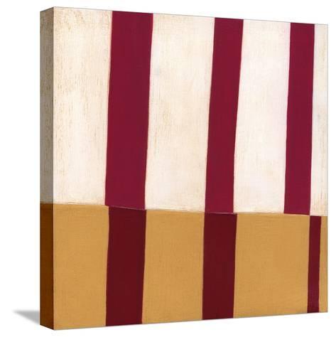 Broken Stripes 2-Laura Nugent-Stretched Canvas Print