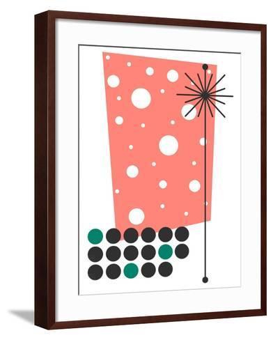 Yucca in Pink-Tonya Newton-Framed Art Print