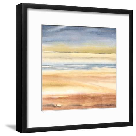 Waves on the Shore-Nancy Knight-Framed Art Print