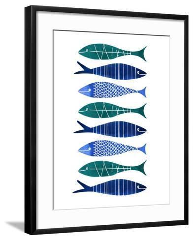 Catch of the Day-Margaret Berg-Framed Art Print