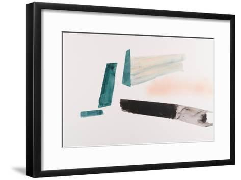 Architectural Islands of Isolation-Lauren Packard-Framed Art Print
