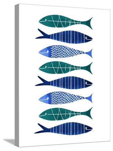 Catch of the Day-Margaret Berg-Stretched Canvas Print
