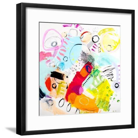 Silver Lake Series #6-Serene Greene-Framed Art Print