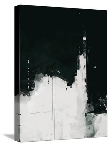 Nightfall-Green Lili-Stretched Canvas Print
