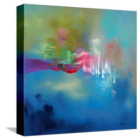 Water Garden-Sarah Parsons-Stretched Canvas Print